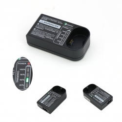 攝影閃光燈充電器V350帶電量指示燈